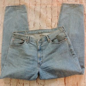 Levi's 550 Relaxed Fit 40x34 Light Wash